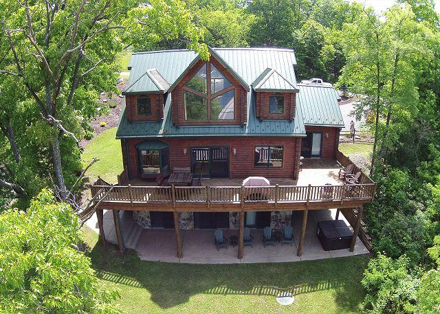 Welcome Home to this 5 Bedroom Luxury Mountain Home with stunning lake views! - Image 1 - Swanton - rentals