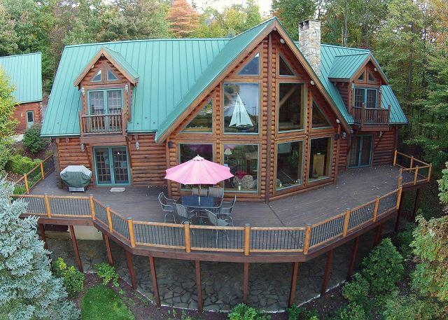Extraordinary mountain chalet with breathtaking lake & mountain views! - Image 1 - McHenry - rentals