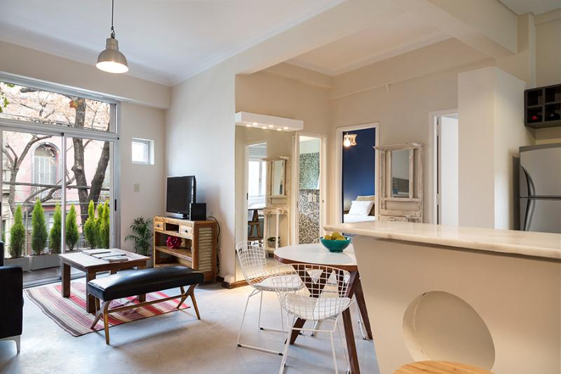 Designer 1 Bedroom Apartment at BA's Top Members Club - Image 1 - Buenos Aires - rentals