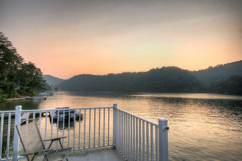 4BR Cabin on Watauga Lake, Right on the Water, Large Dock for Fishing or Swimming, Large Decks Overlooking the Lake - Image 1 - Butler - rentals