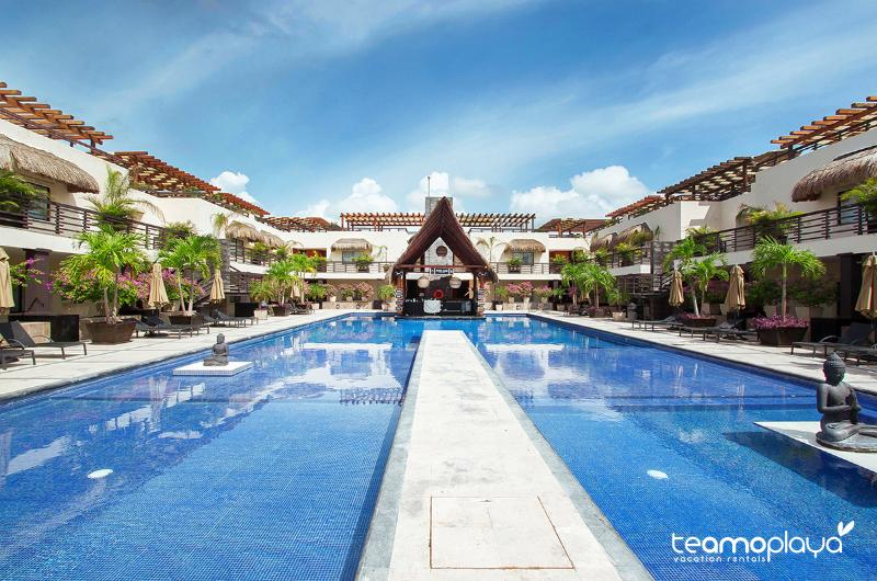 Aldea Thai, Penthouse 329 - Aldea Thai 329- PH with Private Rooftop & Pool - Playa del Carmen - rentals