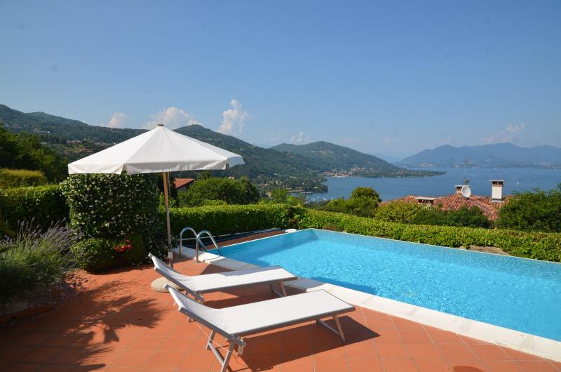 Lake Maggiore Villa with Pool and Walking Distance to Village - Villa Maggiore - Image 1 - Meina - rentals