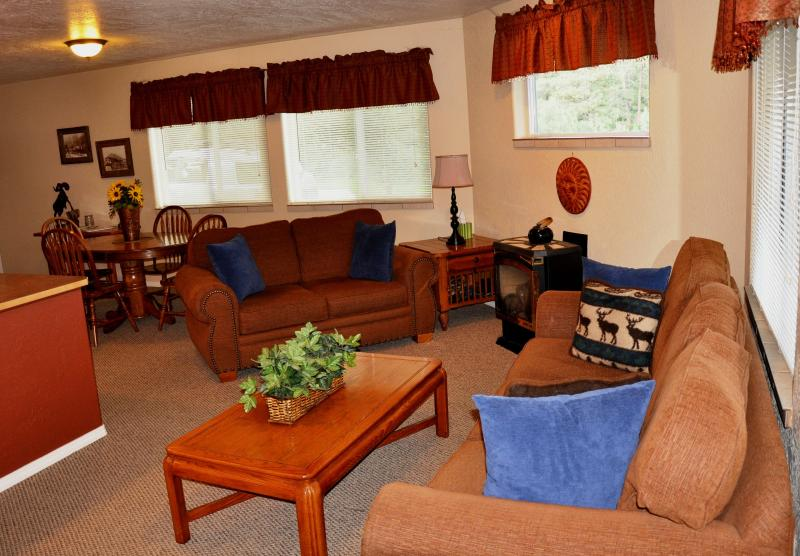 living area - The REDHAWK HAVEN Aspen unit - Pagosa Springs - rentals