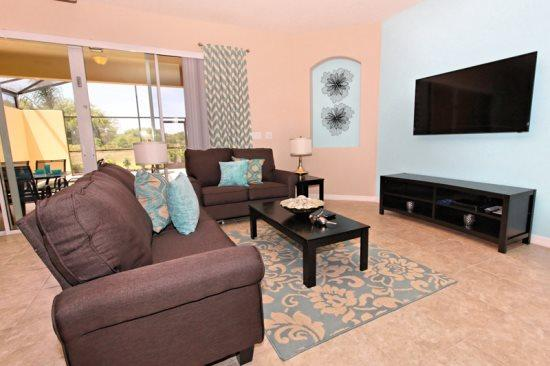 New 4 Bedroom Solterra Resort Town Home. 4631TD - Image 1 - Orlando - rentals