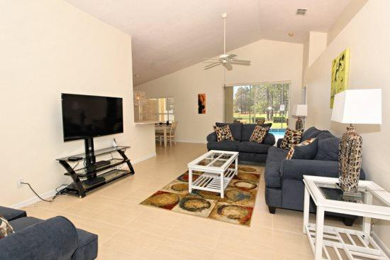 3 Bedroom Pool Home With Golf Course View. 847TC - Image 1 - Orlando - rentals