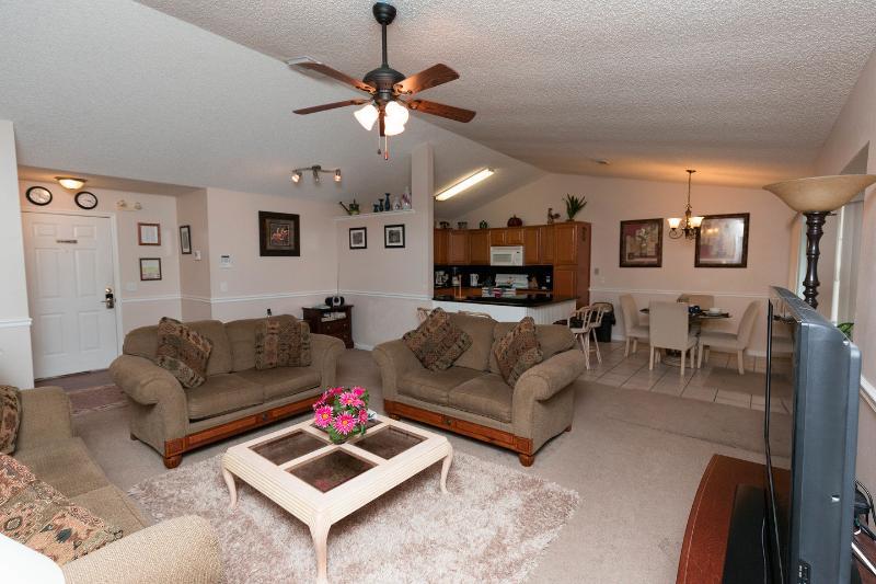 Living Room - Andy's Florida Villa, Pet-Friendly Vacation Rental - Kissimmee - rentals