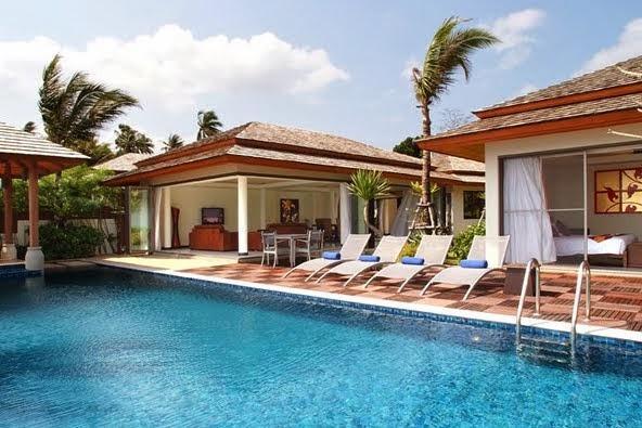 Villa 158 - Bophut Beach Front with Chef Service - Image 1 - Bophut - rentals