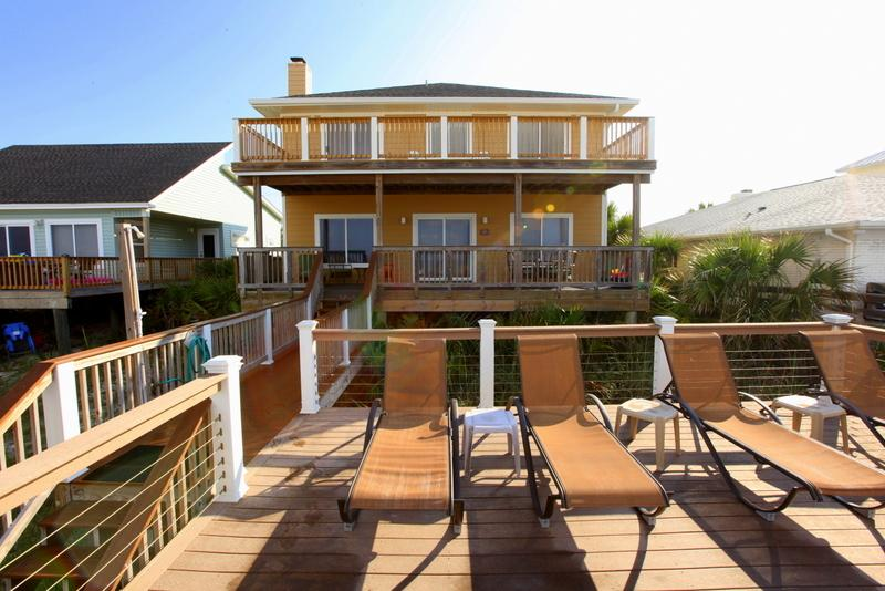 Exterior of Home - Luxury Beachfront House, Walk to Pier Park - Panama City Beach - rentals