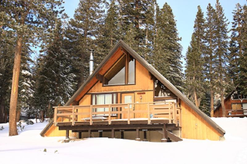 Chalet 2 Outside - Ski In/Ski out Slope side cabin - Chalet #2 - Mammoth Lakes - rentals