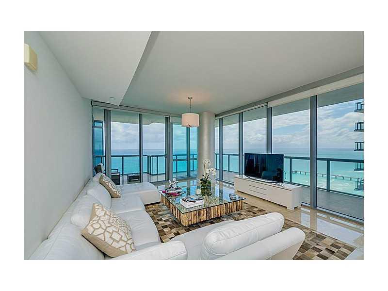 Living Room - BEACH FRONT,BEST BUILDING,3 BDR,2100SQFT,OCEANVIEW - Sunny Isles Beach - rentals