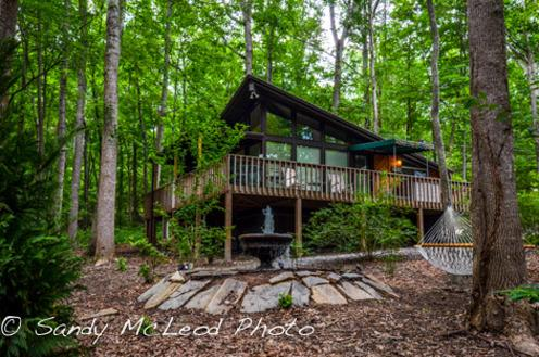 Sandy's Chalet at Asheville Cabins, Willow Winds - Image 1 - Asheville - rentals