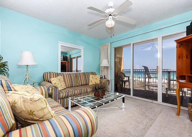 There has never been such a great combination of homey relaxatio - GD 208 NEWLY UPDATED, 2BR BEACH FRONT, FREE GOLF AND BEACH SERVICE! - Fort Walton Beach - rentals
