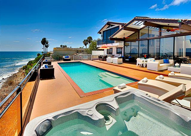 Magnificent Oceanfront Home with private pool and spa - Image 1 - La Jolla - rentals