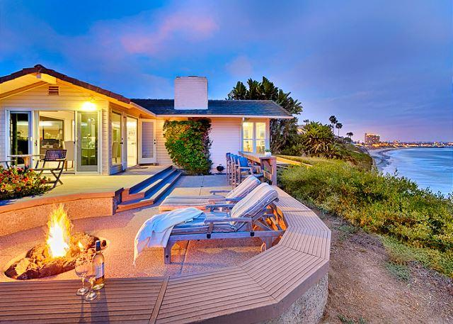 10% OFF JUNE Sweeping whitewater views from this exclusive oceanfront home - Image 1 - La Jolla - rentals