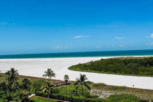 View from Balcony - SST3-704 - South Seas Tower - Marco Island - rentals