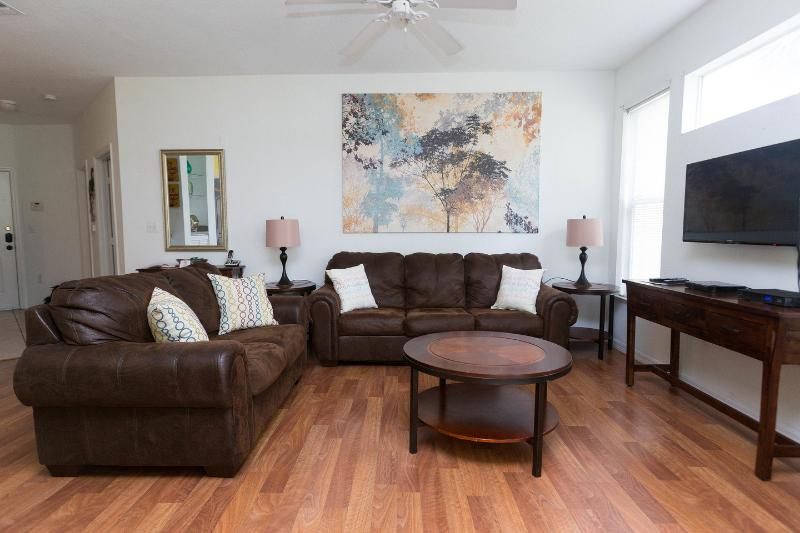 Living Room - Orlando condo at Legacy Dunes  - resort amenities - Kissimmee - rentals