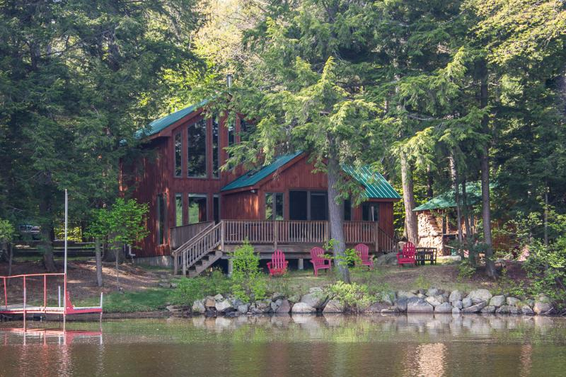 Private Lakefront Cabin, Sauna, Canoe and Views! - Image 1 - Wells - rentals