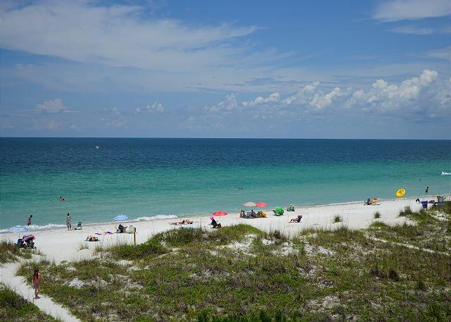 Beach View from your balcony - May is great beach weather, call now for MAY SPECIALS at Sea Isles G! - Indian Rocks Beach - rentals