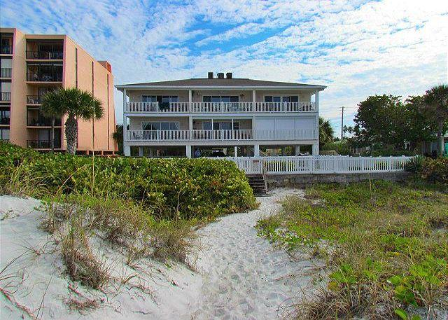 Building From Beach - Beachfront Paradise at Island Sands 204 Awaits you for summer vacations! - Indian Rocks Beach - rentals