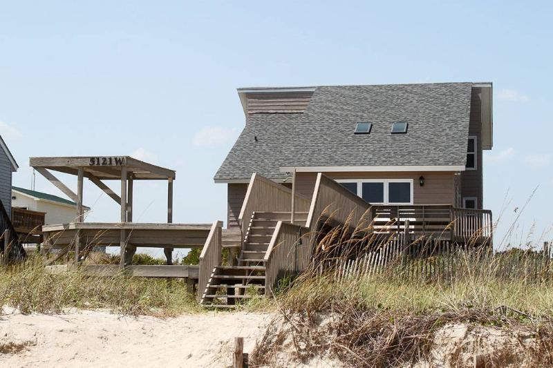 Wahoo 5121 West Beach Dr - Image 1 - Oak Island - rentals