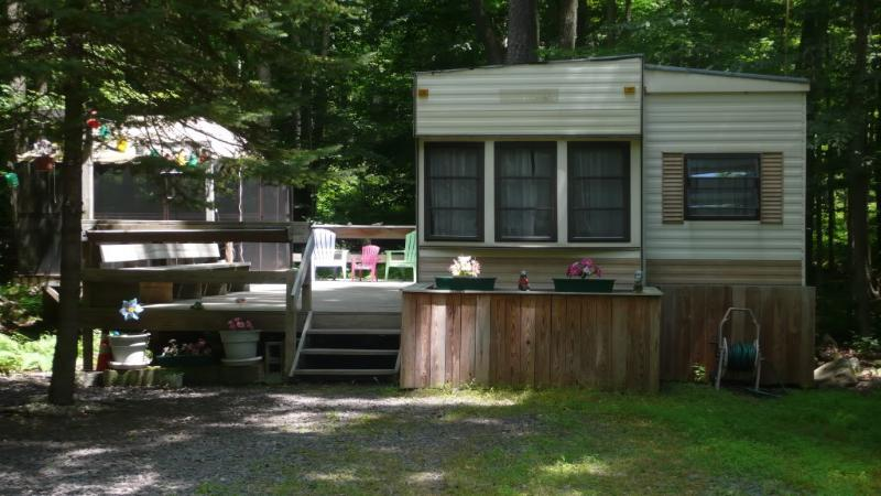 Front - Eagle Lake 2-BR Vacation Summer Home - Gouldsboro - rentals