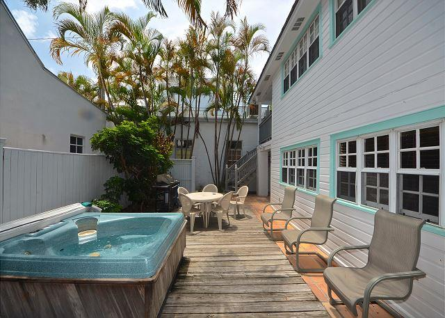 Southernmost Retreat- Spacious 2 BR Condo On Duval St! Private Parking! - Image 1 - Key West - rentals