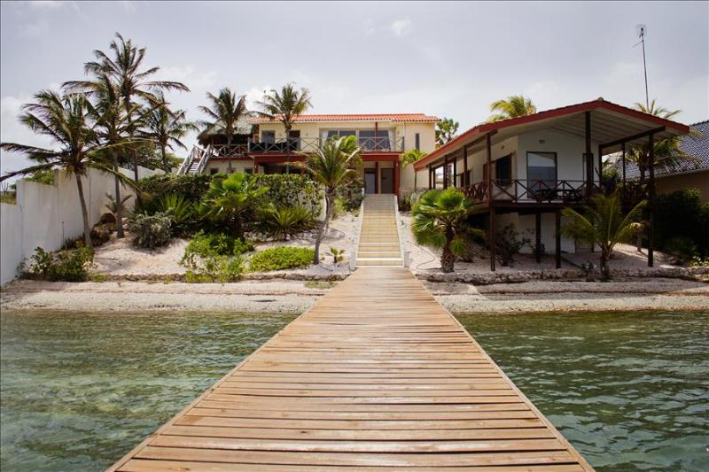 Sweet Breeze Oceanfront villa at Spanish Water - Image 1 - Willemstad - rentals