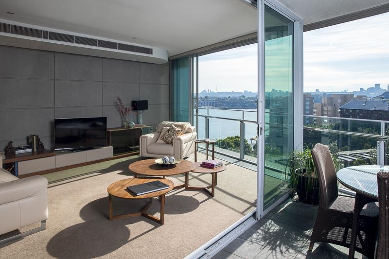 Pyrmont Port, Sydney - View from terrace - Pyrmont Port - Sydney - rentals