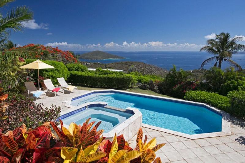 Villa Gardenia at Mandahl Peak, St. Thomas - Ocean View, Pool, Short Drive To - Image 1 - Mandahl Peak - rentals