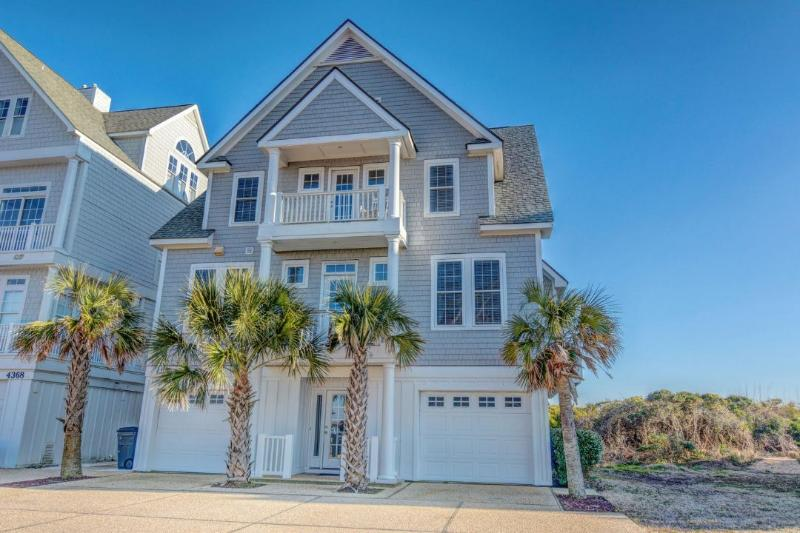 Magnificent Ocean Front Home - 6BR Beachfront Home w/ Hottub wk of 9/24 $1695 - North Topsail Beach - rentals