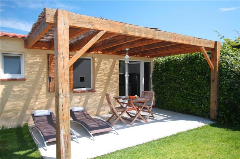 """très jolie mini-villa  """"amarylis""""studio avec jardin privatif à 5 min des plages - Image 1 - Calvi - rentals"""