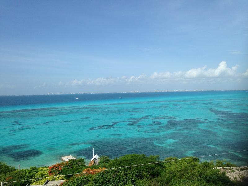 View From Mar Y Cielo - Mar Y Cielo, 2BR, 2BA,  Dazzling View, Snorkeling - Isla Mujeres - rentals