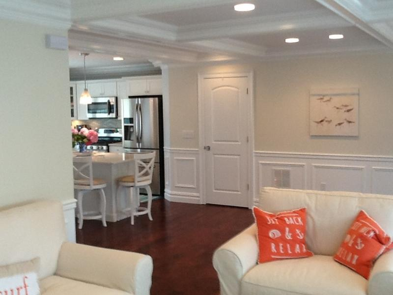 View from living room towards kitchen - Ortley Beach Upscale Deck House - Ortley Beach - rentals