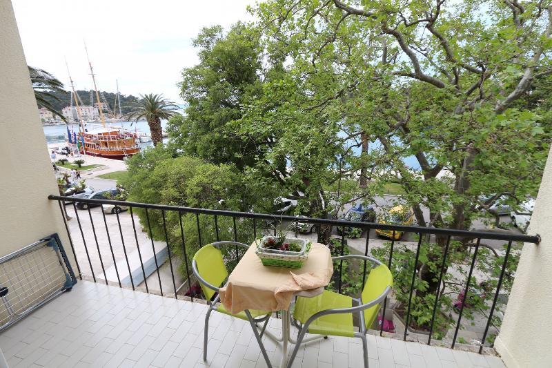 A1(3+2): terrace - 8230 A1(3+2) - Makarska - Makarska - rentals