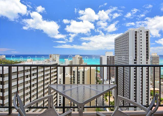 BEAUTIFUL Ocean Views!  A/C, WiFi, Pool, Parking!  Close to beach! - Image 1 - Waikiki - rentals