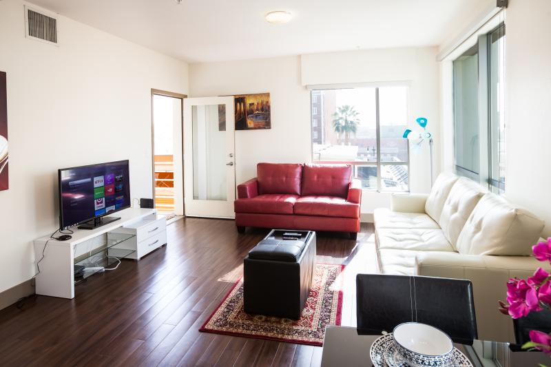Spacious Living room - Heaven on Hollywood Vine Street 2BR Apartment - Los Angeles - rentals
