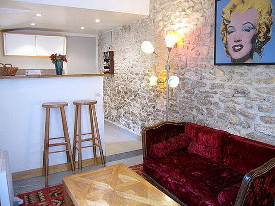 Sejour - studio Duplex - Floor area 25 m2 - Paris 15° #1159194 - Paris - rentals