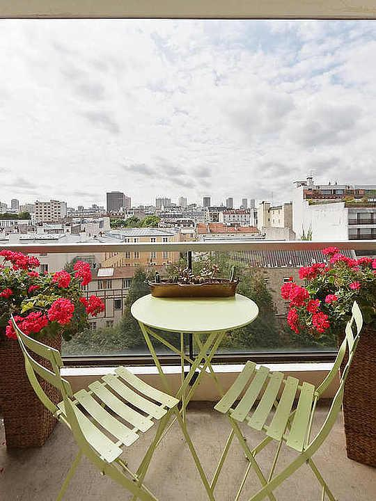 Terrasse - studio Apartment - Floor area 30 m2 - Paris 5° #10510132 - Paris - rentals