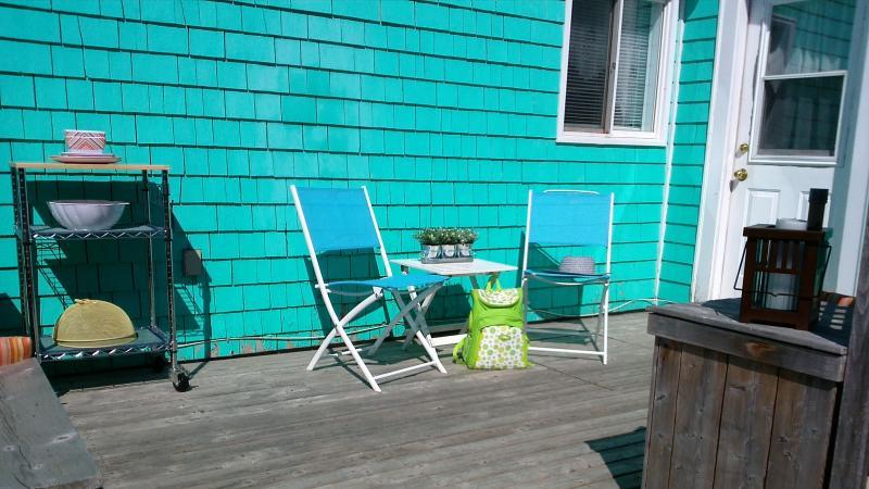 Sunny Deck Entrance - Antigonish Towne Cottage located in Antigonish NS - Antigonish - rentals
