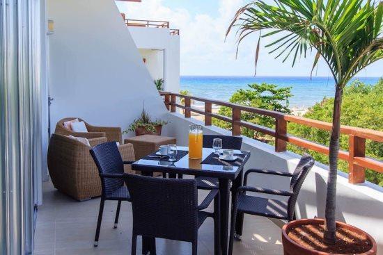 Rentals in Playa del Carmen - Ocean View balcony - Casa del Mar PH Cielo - Casa del Mar PH El Cielo - Playa del Carmen - rentals
