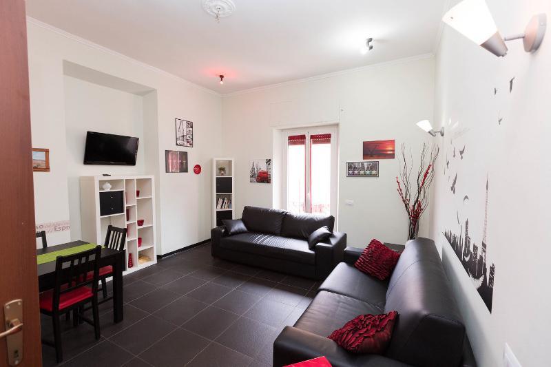 The Salon - Holiday In Rome New-Centra-Romantic-Economic- - Rome - rentals