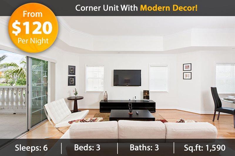 Whisper Way Escape - Modern Luxury 3 Bed Condo on 3rd Floor - Image 1 - Reunion - rentals