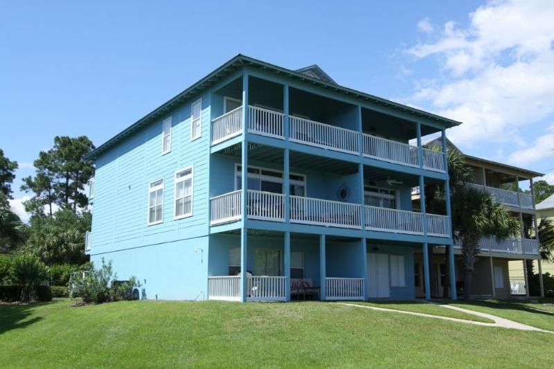 Blue Heaven - On Left Side of Duplex Building - Blue Heaven - Dune Allen Beach - rentals