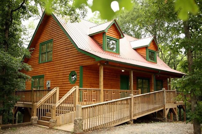 Handicapped Accessible - Whispering Pines - Helen - rentals