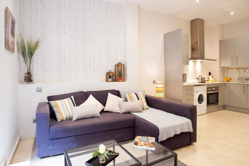 Mozart - two bedroom with terrace apartment - Image 1 - Barcelona - rentals