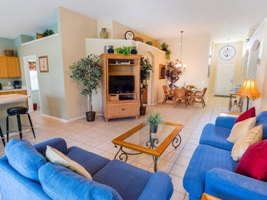 4 Bed 4 Bath Pool Home Near The Theme Parks In Kissimmee. 8132SPD. - Image 1 - Orlando - rentals