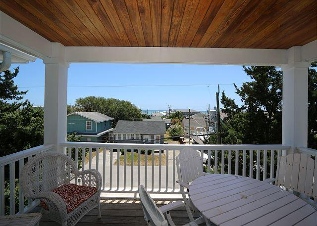 Sanderling South -Ocean view duplex with open floor plan & great views - Image 1 - Kure Beach - rentals