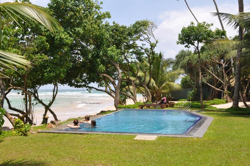 infinity pool - South Point Abbey - luxury beach villa. fully staffed including chef. Exclusive - Koggala - rentals