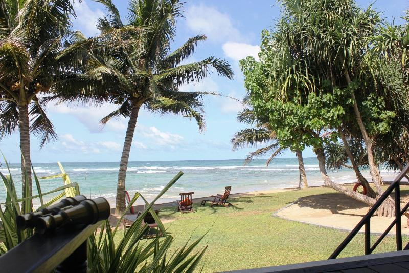 view from deck sitting areas - South Point Villa luxury family villa on the beach - Galle - rentals