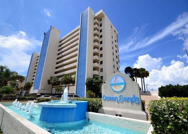 Ocean Sands 908 - 9th Floor Corner Condo with Gulf Front Balcony, Free WiFi! - Image 1 - Madeira Beach - rentals